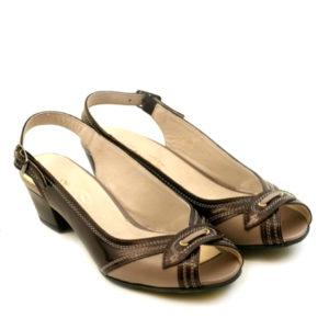 Туфли женские 593 к.беж. Кош-Агач