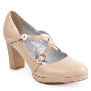 Туфли женские 667-91 беж. Кош-Агач