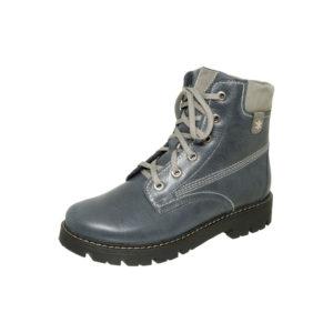 Ботинки зимние 5-1361 синий женские