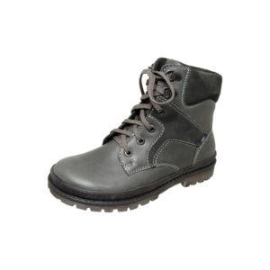 Ботинки зимние 7-1269 серый хром мужские