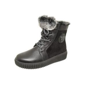 Ботинки зимние 4-1377 серо-кор для мальчиков