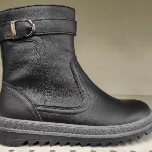 Ботинки зимние 6-573 черный. Горно-Алтайск