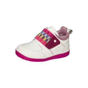 Ботинки демисезонные детские 3-1622 (бело-розовый)