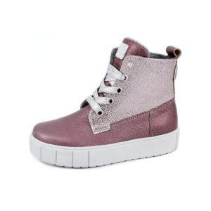 Ботинки демисезонные детские 3-1623 (темно-розовый)