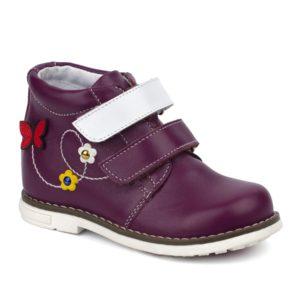 Ботинки детские 25158 к фиолетовый. Горно-Алтайск
