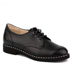 Туфли женские 61180 черный. Горно-Алтайск