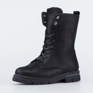 Ботинки детские зимние 652195-42 черный