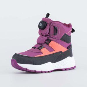 Ботинки детские зимние 654838-41 фиолетов